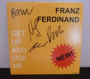 Star Boot Sale - Franz Ferdinand - Signed EP