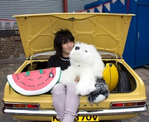Noel Fielding - Art Car Boot Fair - London