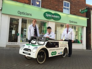 Humber Bridge Soapbox Derby 2016 - Specsavers Soapbox