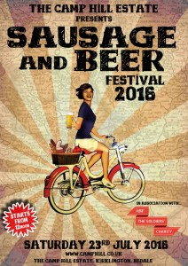 Camp Hill Sausage and Beer Festival 2016
