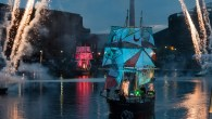 Fire and light flotilla lights up World Heritage River Festival