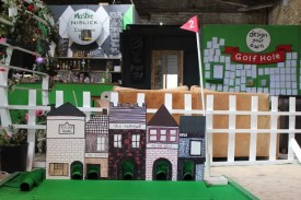 Crazy Golf - Brunel Goods Shed - Stroud