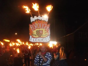 Lewes Bonfire - East Sussex - Lewes Borough Bonfire Society