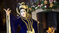 A pantomime-themed Christmas market in London