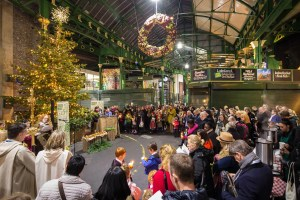 Borough Market - London - Christmas
