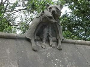 Animal Wall Cardiff - Racoons - Keith Edkins