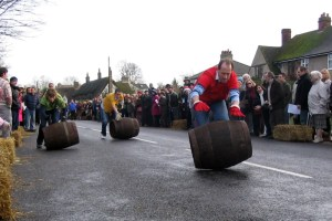 Grantchester Barrel Race - Photo: cmglee