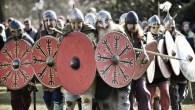 Viking warriors invade York for festival