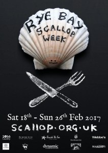 Rye Bay Scallop Week 2017 (Artwork: Matt Hardman)