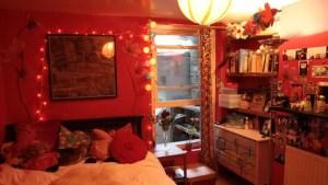 Freya's bedroom, East London, 2014. ©Kyna Gourley