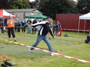 World Wellington Boot Throwing Championship 2017 - Somerset - Cameron Enticott