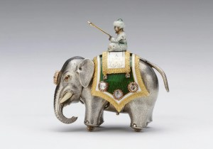 Fabergé Silver Elephant Automaton Royal Collection Trust© Her Majesty Queen Elizabeth II 2018