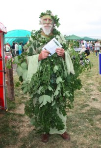 Binsted's Green Man, Strawberry Fair
