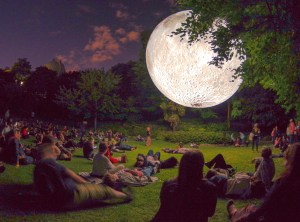 Museum of the Moon by Luke Jerram - Photo by @edsimmons_ @visitgreenwich