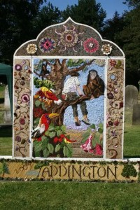 Curiosity of the Week - Well Dressing Taddington, Derbyshire - Contrary Life