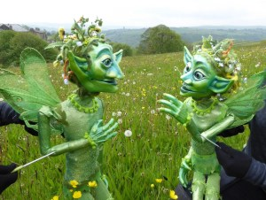 The Meadow Sprites by Curious Cargo - Beverley Puppet Festival 2018