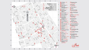 F'EAT fancy food crawl, Fitzrovia, central London events 2018