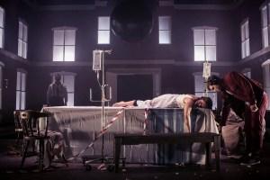 Dead Centre, Chekhov's First Play, (L-R) Rory Nolan, Rebecca O'Mara, Unknown PHOTOCREDIT Jose Miguel Jimenez
