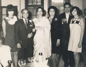 Wedding Day of Joeseph Gyanapraksan (head waiter at the India Club). India Club. 17th September 1966. Courtesy of David Joeseph