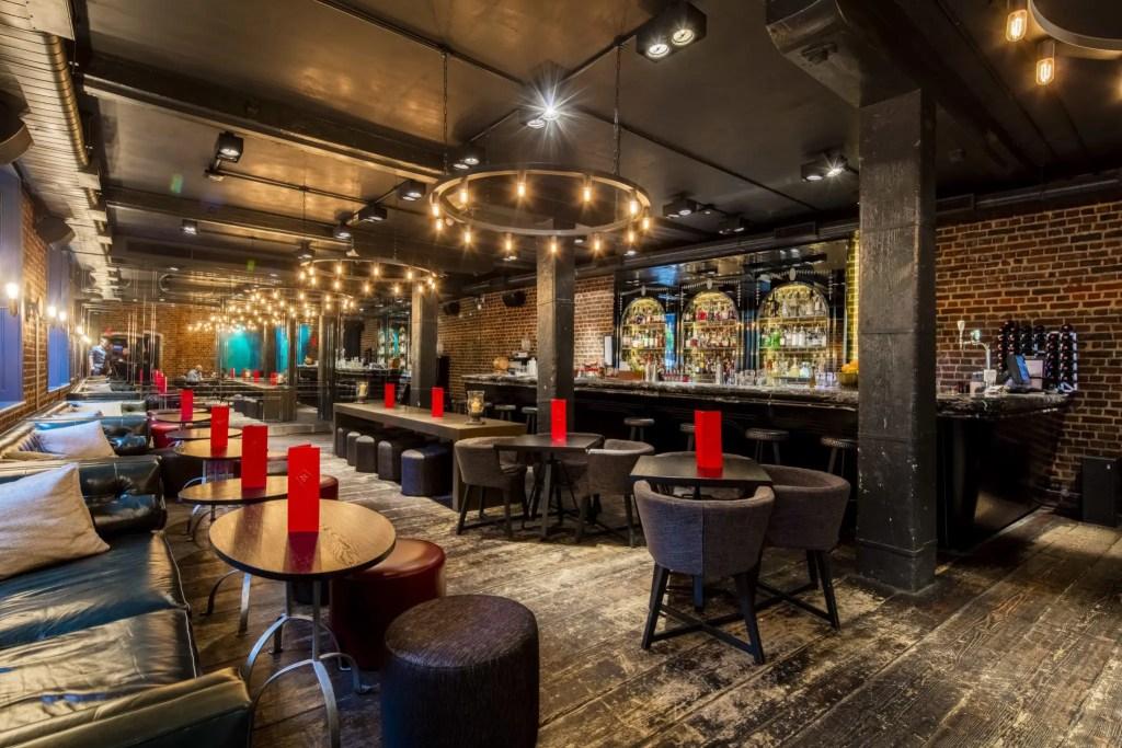 Old Bengal Bar Interior