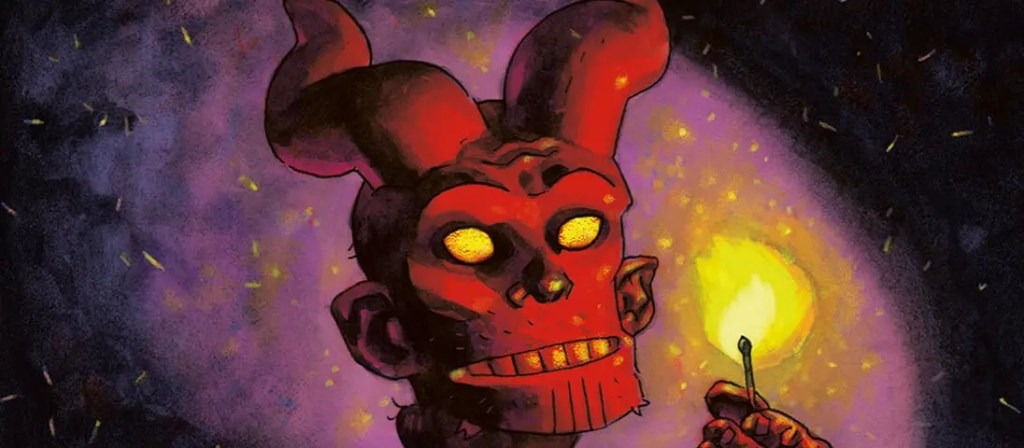 2019 Exhibition Duncan Fegredo, young Hellboy