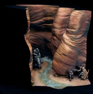 Bloodstone Diorama from Contrast Miniatures by Matt DiPIetro