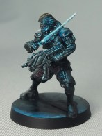 iNFINITY_Cyber Ninja_Tabletop Style_Painted by Matt DiPietro_C_Contrast Miniatures