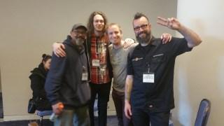 Sam Lenz, Syndjinn Scott, and Justin Mccoy