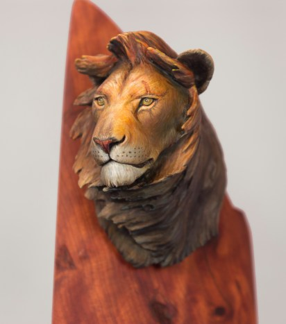 Be a Lion_Fine art Quality_2016_by Matt DiPietro_Contrast Miniatures