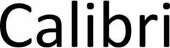 typographie calibri