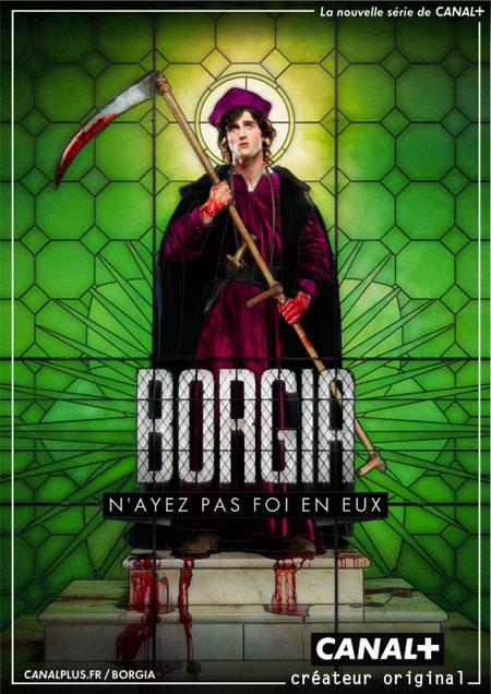 Borgia série Canal +