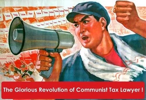 Communist Tax Lawyer Revolution