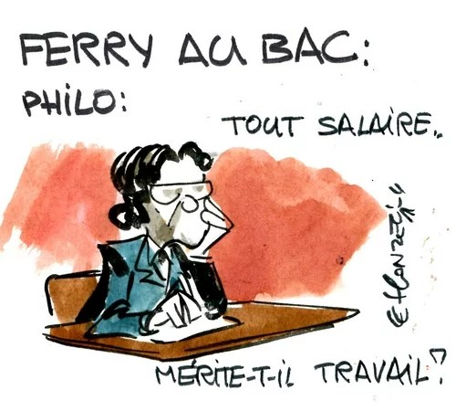 Ferry, philosphe