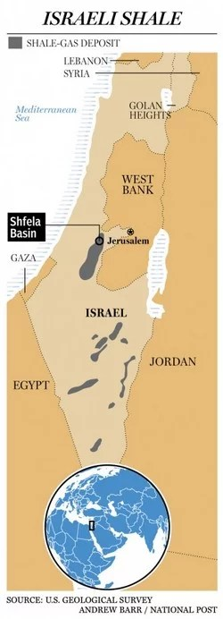 israel's shale-gas