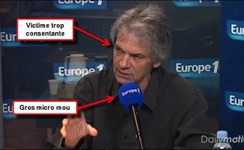 Jean-Marc Roberts, victime à son tour du micro mou
