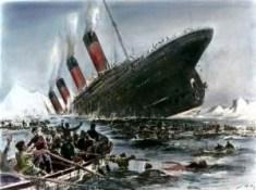 Naufrage du Titanic (Libre de droits, Willy Stöwer, 1911)