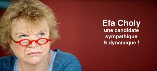 Eva Joly, une candidate sympathique & dynamique