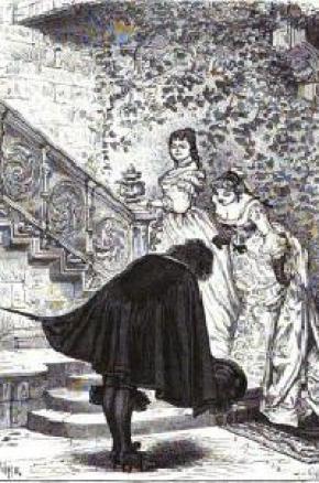 Illustration d'une édition d'époque du roman