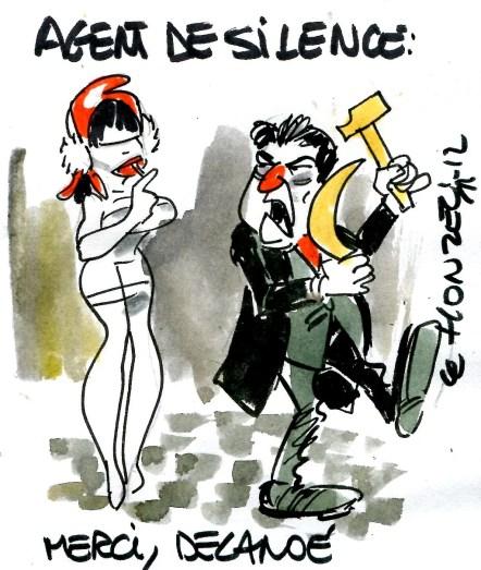 agent de silence