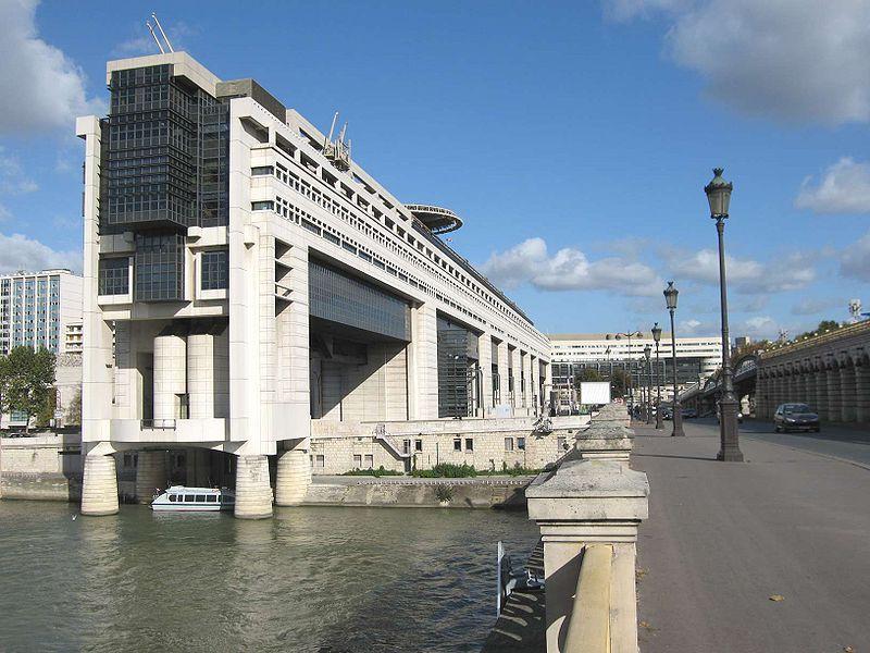 Ministère des Finances français à Bercy