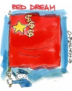 Chine red dream
