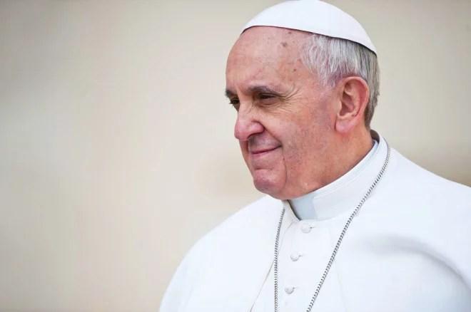 Le Pape François au Vatican (Crédits Catholic Church (England and Wales), licence Creative Commons)