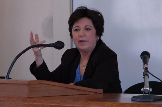 Corinne Lepage, une des candidates à la primaire des Français