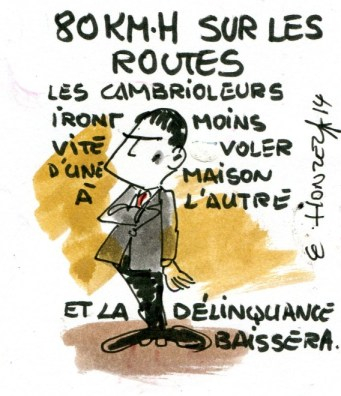 imgscan  contrepoints 2014610 Valls limitation de vitesses