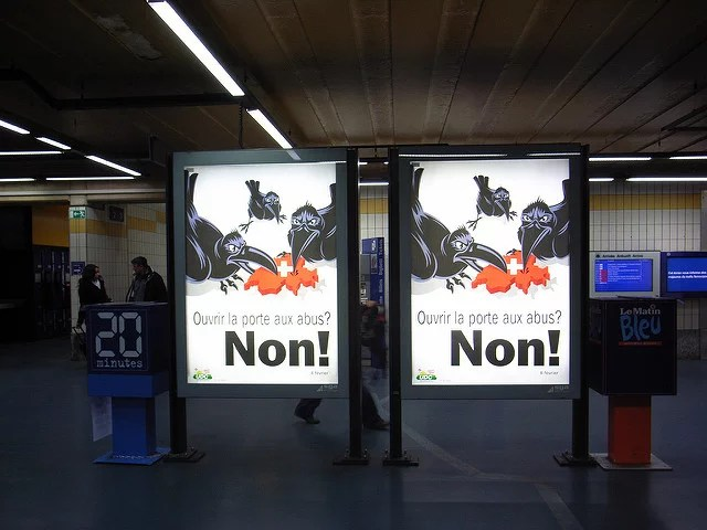 Votation Suisse sur l'immigration