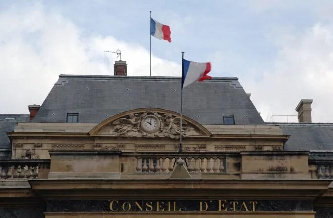 Conseil d'Etat à Paris (Crédits Caribb, licence Creative Commons)