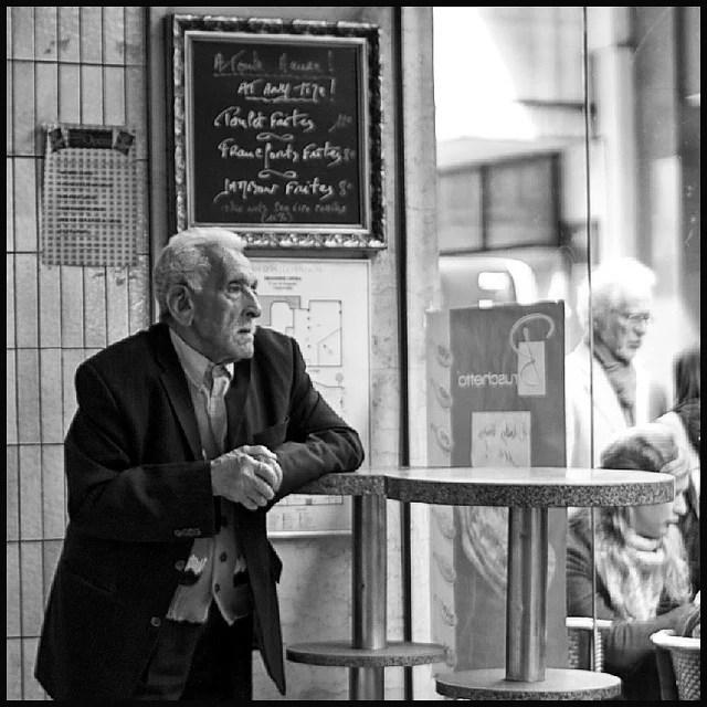 Chibani - Immigré âgé - Serge Kik (CC BY-NC-ND 2.0)