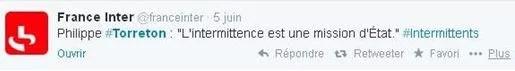 France Inter Twitter