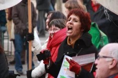 Manifestation à Paris (crédits Stéphane DAUGUET, licence Creative Commons)