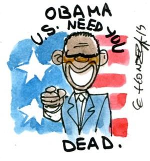 rlh - obama needs you dead